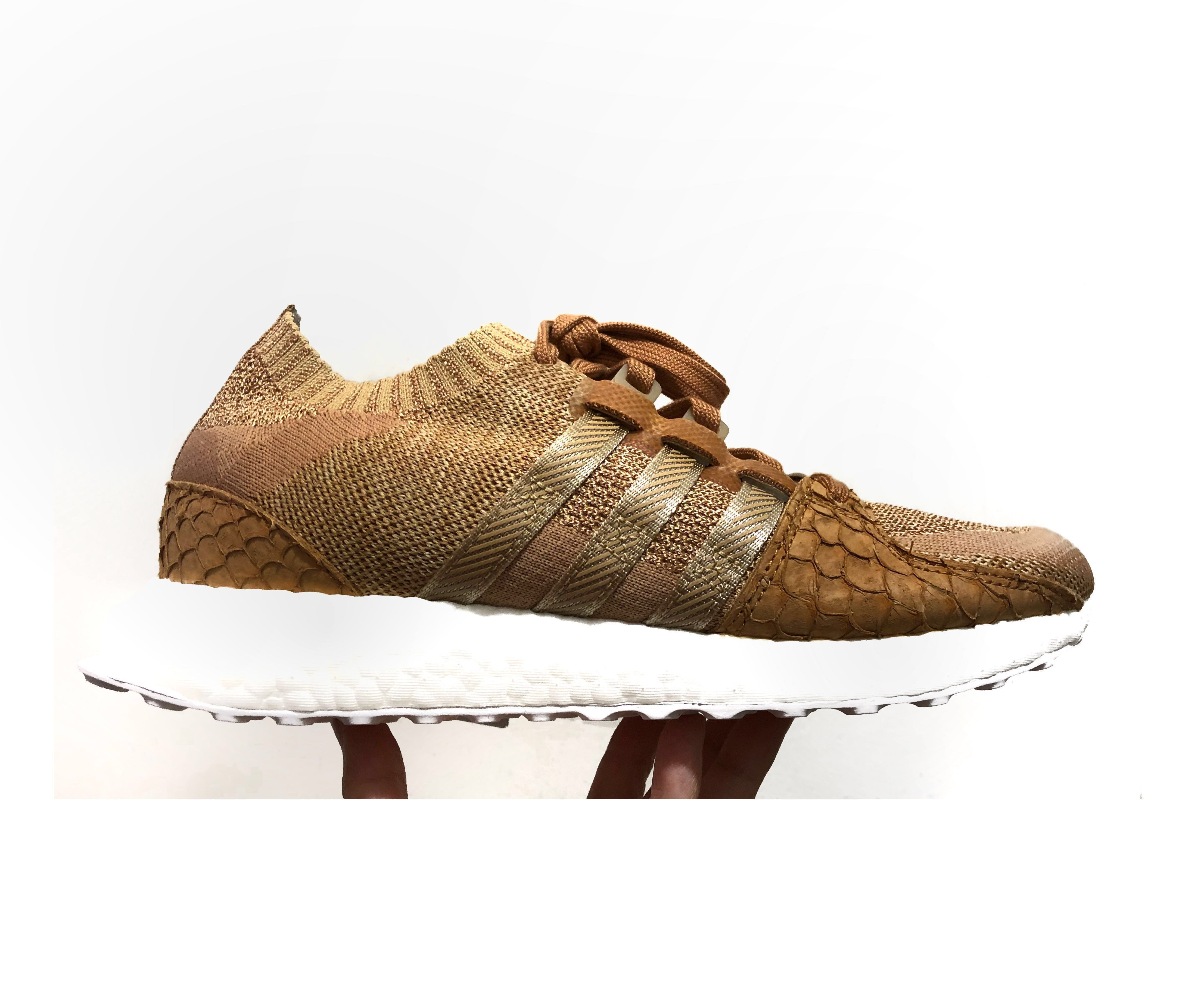 "4d7218ebc3740 💎 UNUSED Adidas x Pusha T EQT Support Ultra Primeknit ""Brown Paper ..."