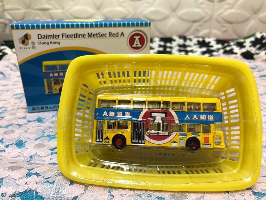 紅A巴士模型