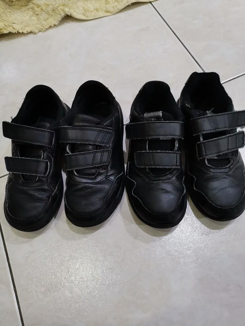 Adidas Black School Shoes 2 pairs