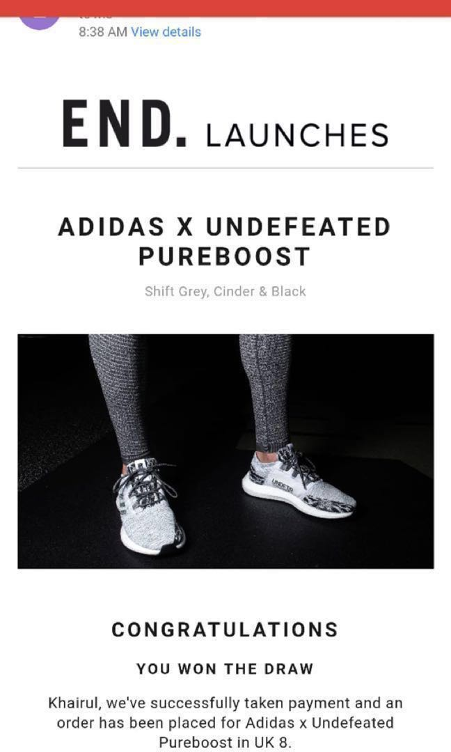 PureboostMen's FashionFootwearSneakers On X Undefeated Adidas dCxeoB