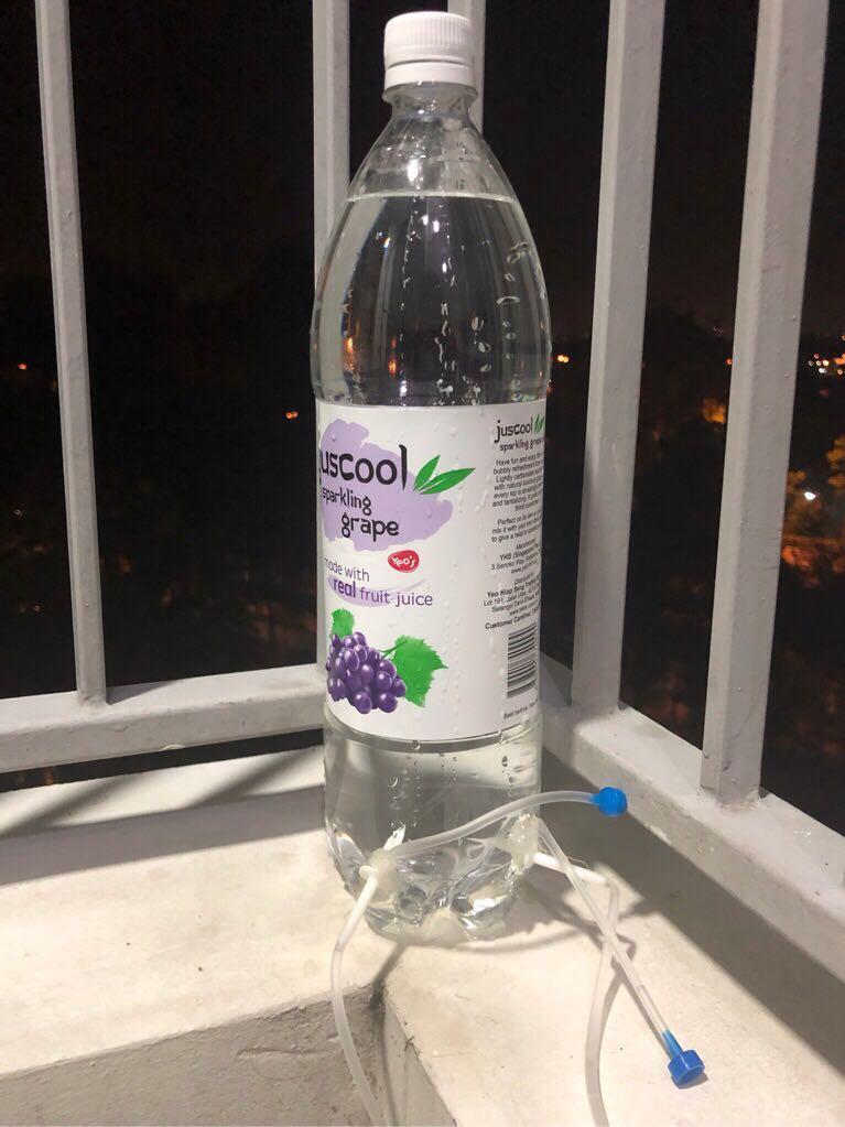 Adjustable Self Watering Bottle