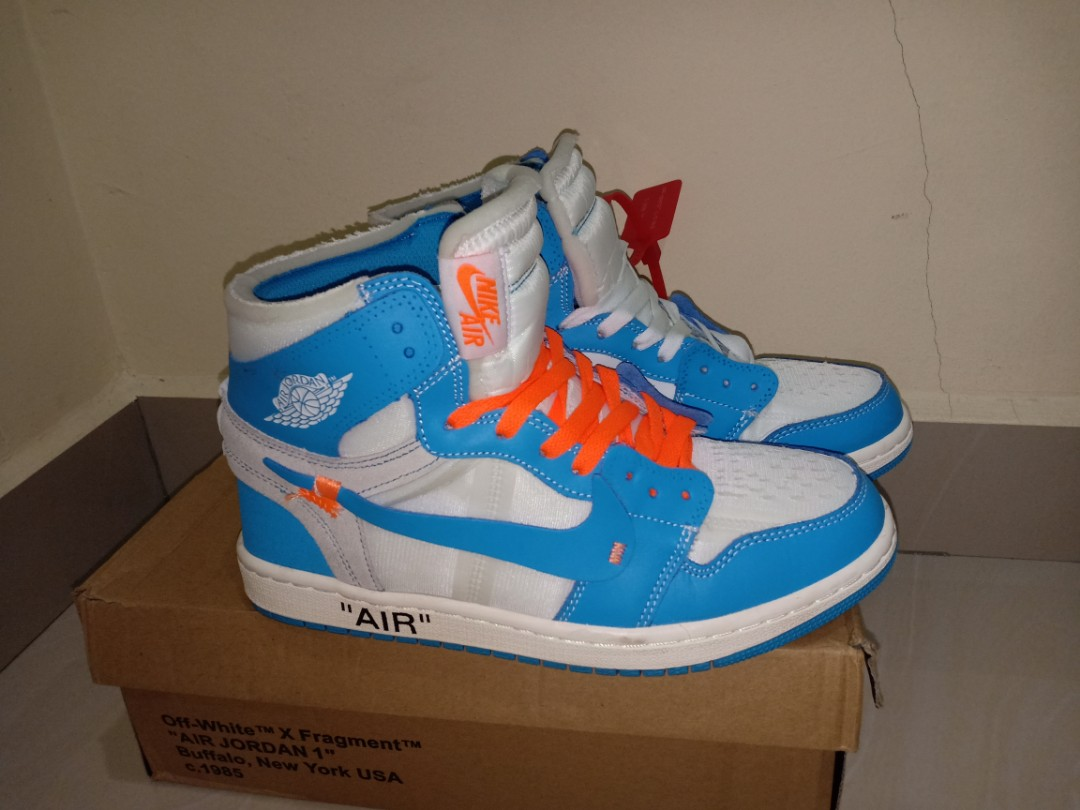 283009bea8b73c air jordan 1 off white unc high copy (used 1time only)