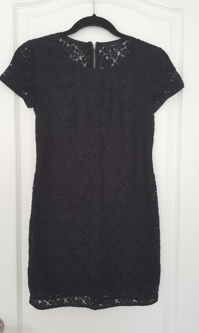 ARITZIA - Talula Oji lace dress in black - size xs