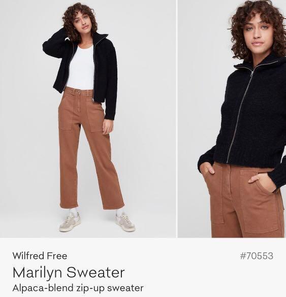 Aritzia Wilfred Free Marilyn Sweater
