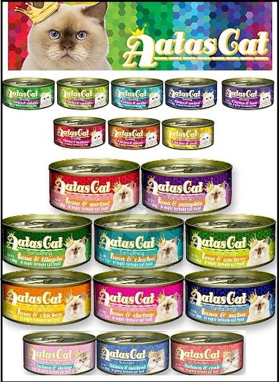 Atas canned wet food - all flavours