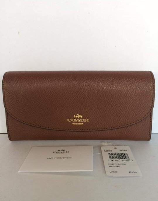 Authentic Coach Long Wallet