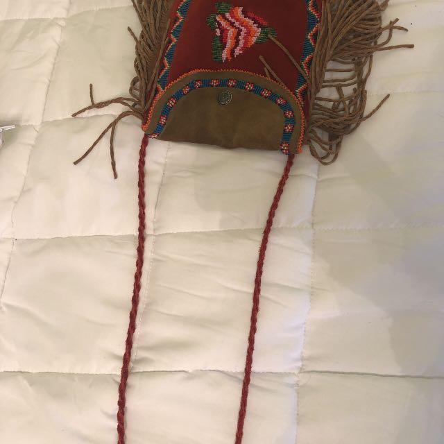 Boho festival cross-body bag