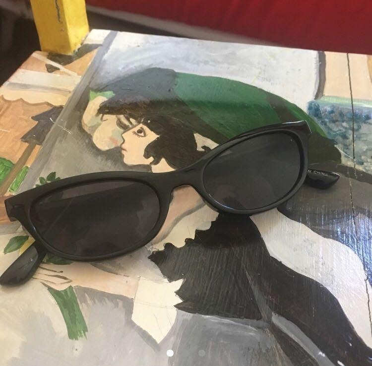 Cat eyed sunglasses
