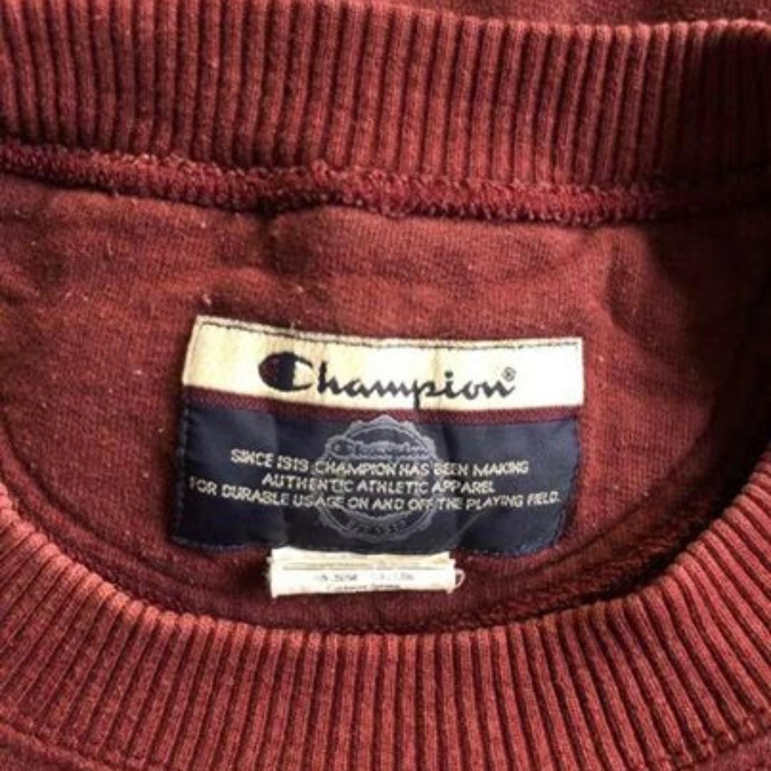 Champion Vintage Pullover Size L-XL Unisex Baggy fit