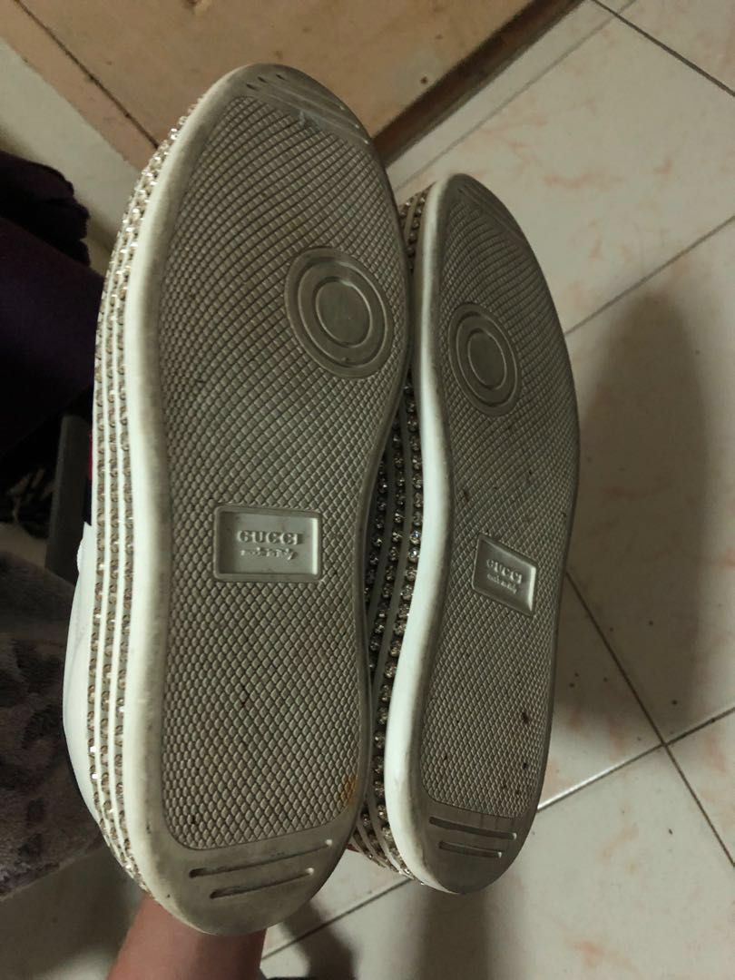 b53c42dff85 CHEAPEST) GUCCI Ace Sneakers with Crystals LIMITED EDITION