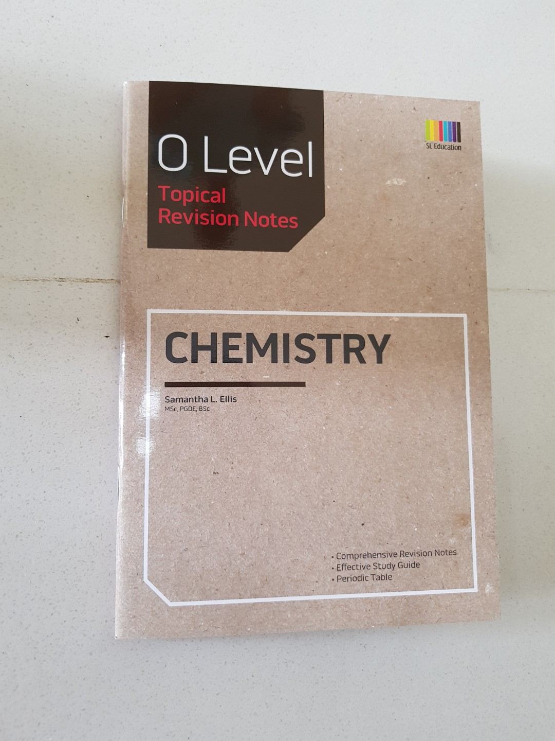 Chemistry O Level Tropical Revision Nites