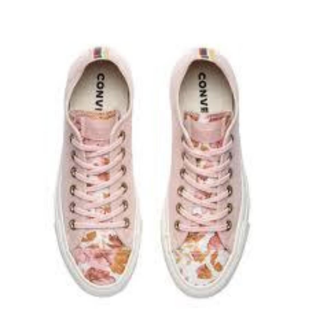 """Chuck Taylor All Star Low 70s """"Floral Pink"""" Women's Sizes 6 7 8"""