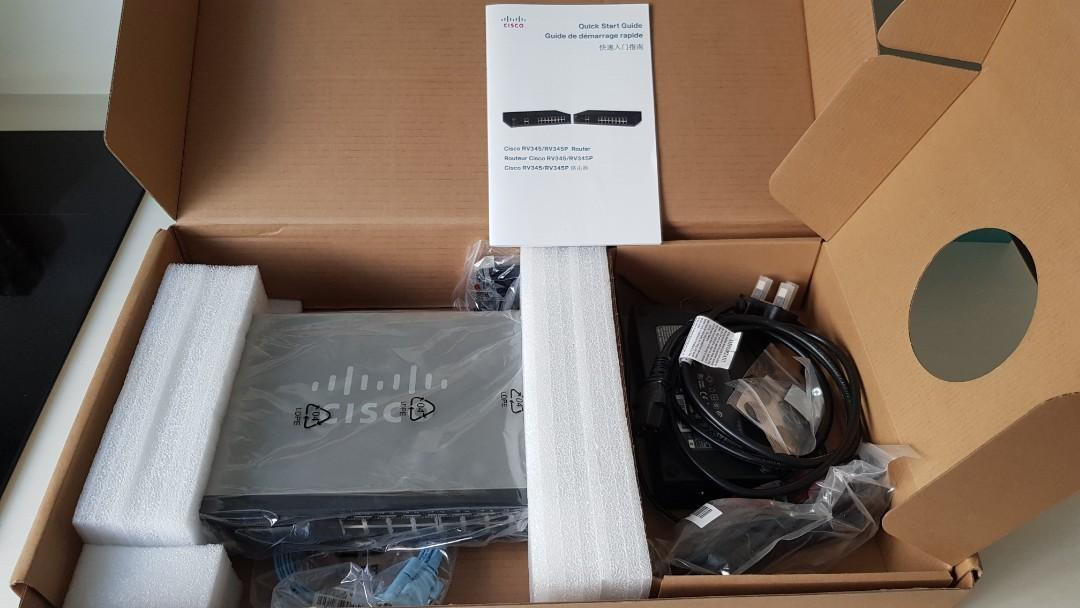 Cisco RV345 Dual WAN Gigabit VPN Router with 16 Gigabit Lan