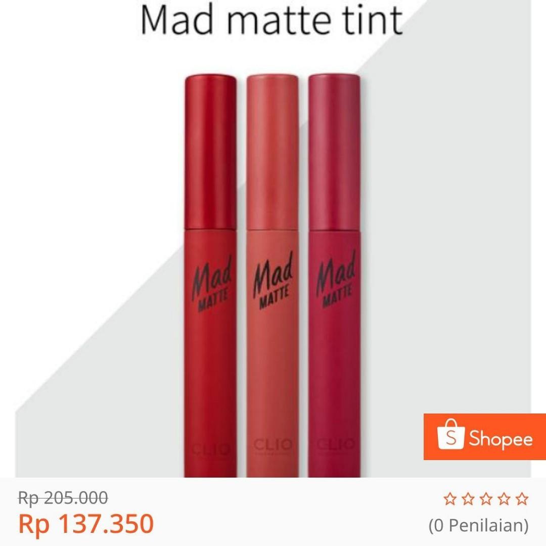 Clio Mad Matte Tint