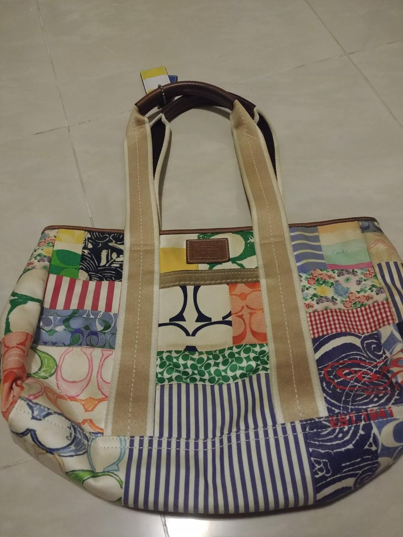 Coach 手袋 Handbag 布袋