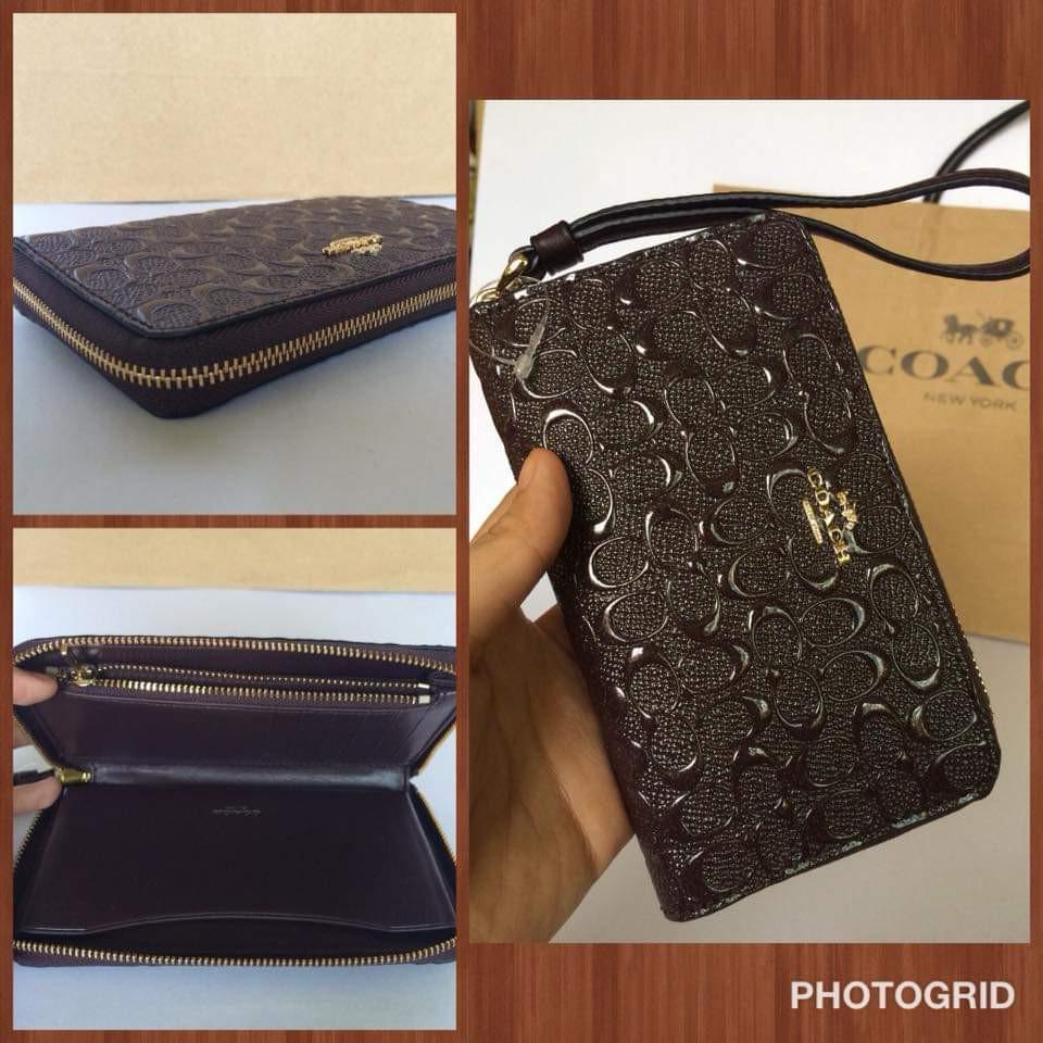 Coach Wristlet / Phone Case Wallet