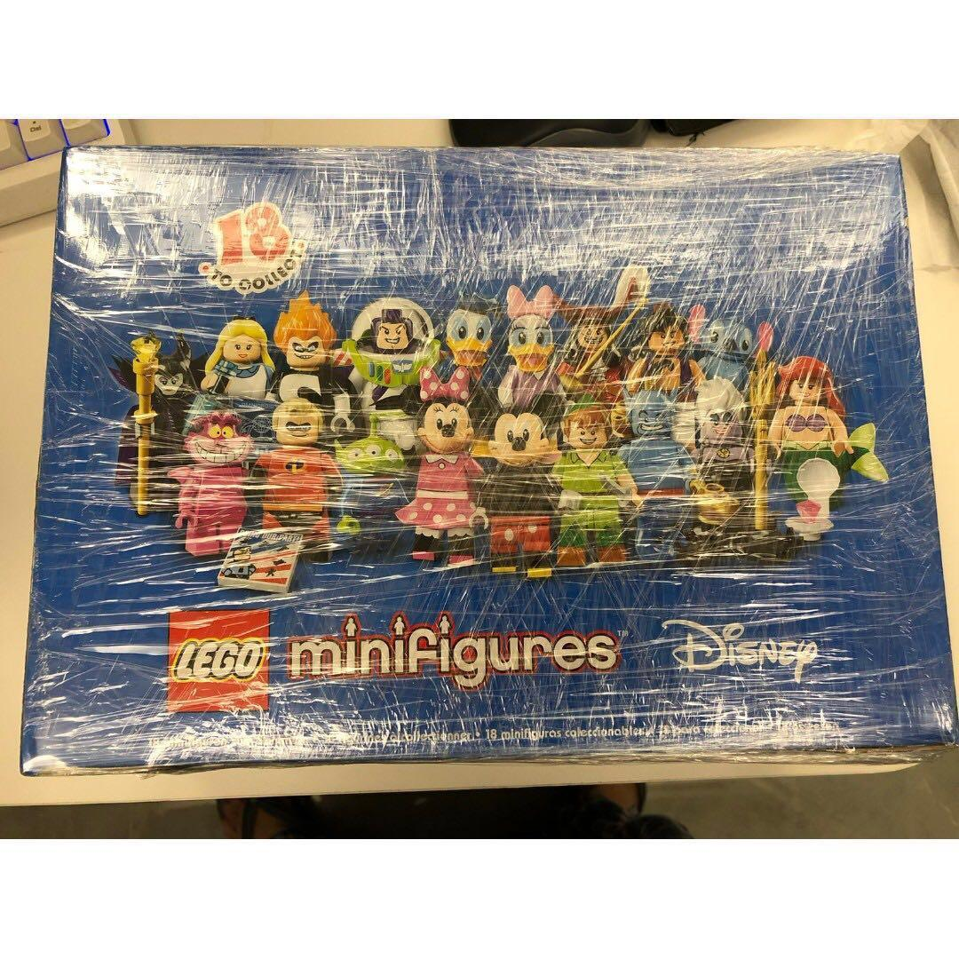 Disney Lego 71012 New Never Open 60 pieces with box and all sealed bags Investment, Collection, Gift minifigure 迪士尼 樂高