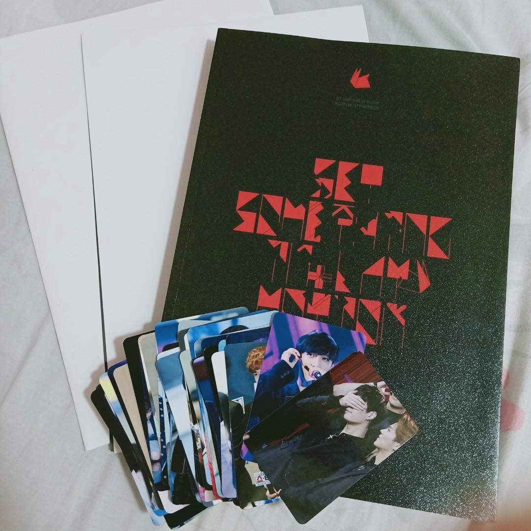 EXO LAY YIXING Set Something In Motion Korea Fansite Photobook Set