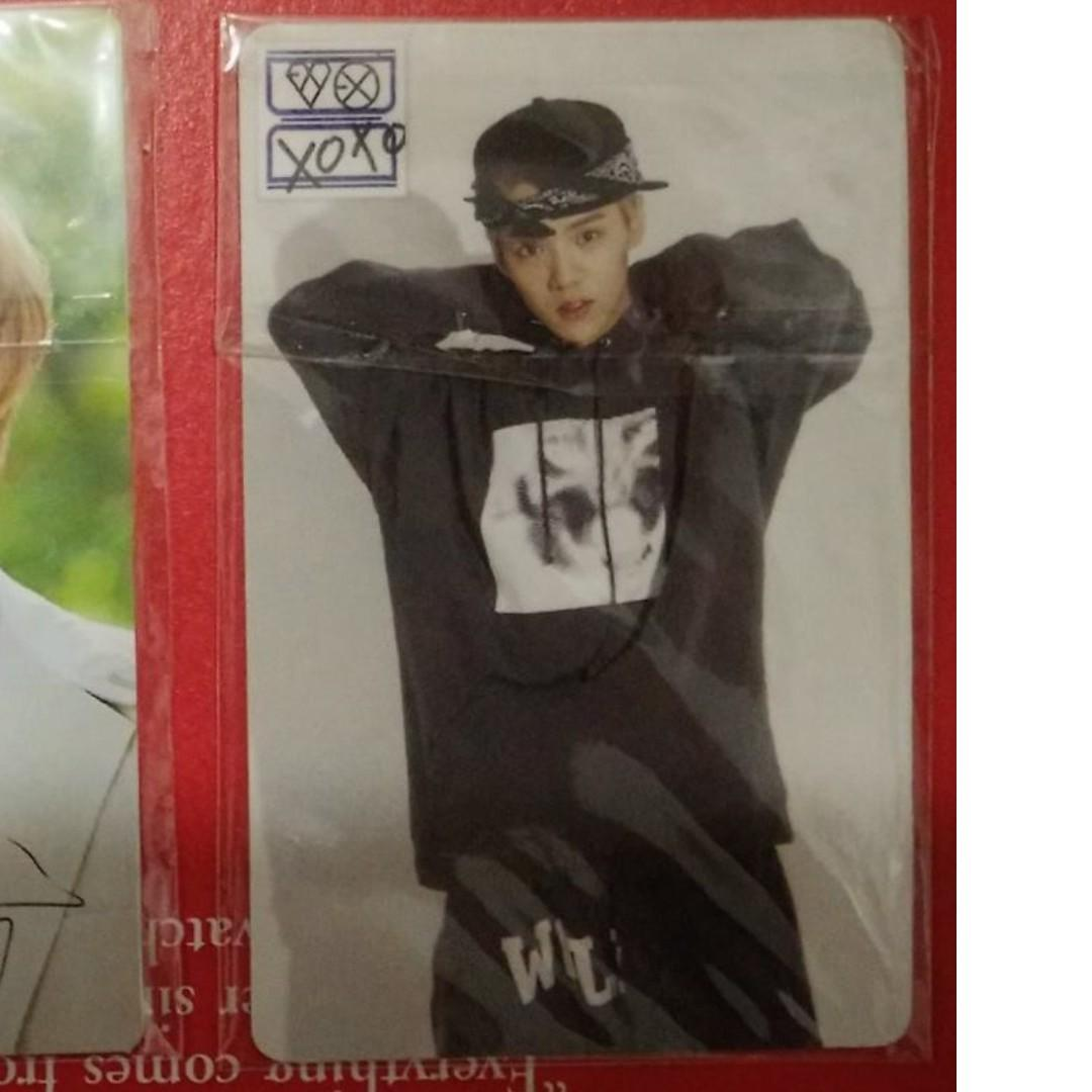 EXO Luhan Pop Up Store Stationery Photocard - RM10