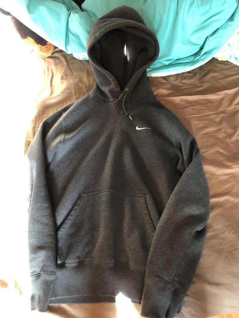 Grey Nike Pullover Sweater