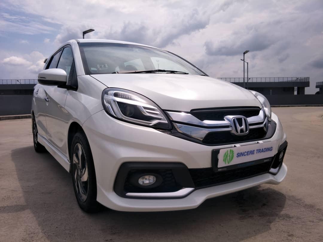 Honda Mobilio 1 5 Rs Basic Mpv I Vtec Auto Cars Vehicle Rentals On