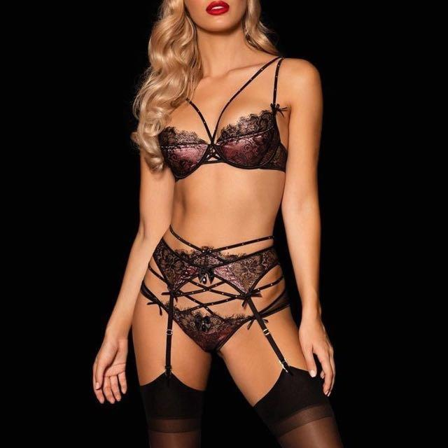 Honey Birdette Lingerie bra underwear set Priscilla