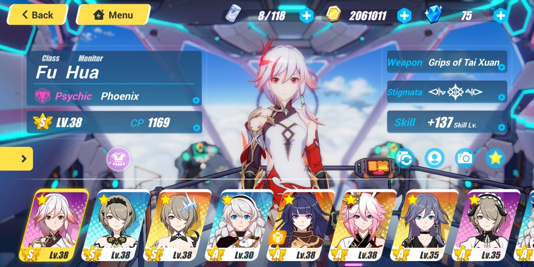 Honkai Impact 3 Account