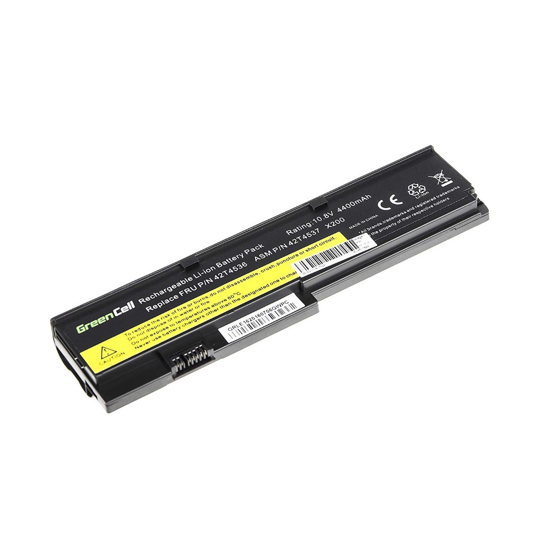 84ef93b7806 (J276) Green Cell® Standard Series 42T4650 Battery for Lenovo ThinkPad X200  X200s X201 X201i X201s Laptop, Electronics, Others on Carousell