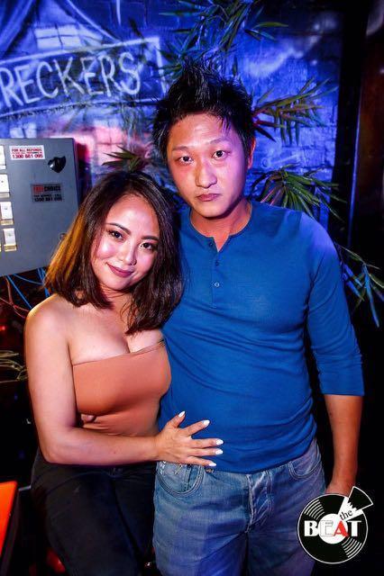 Kookai clubbing wear Nude top (brick colour)