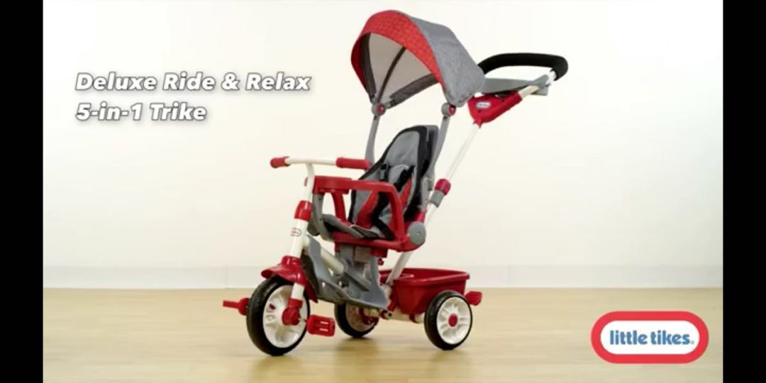 c02f774b83d Little Tikes 5-in-1 Deluxe Ride & Relax Recliner Tike, Babies & Kids ...
