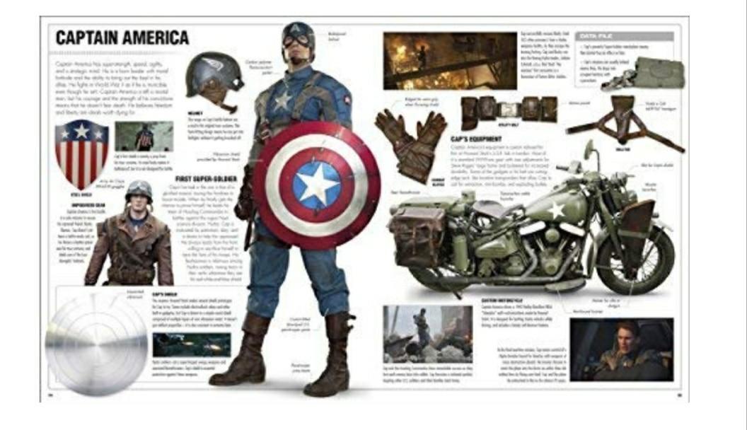 Marvel Studios 2018 Visual Dictionary, Books & Stationery