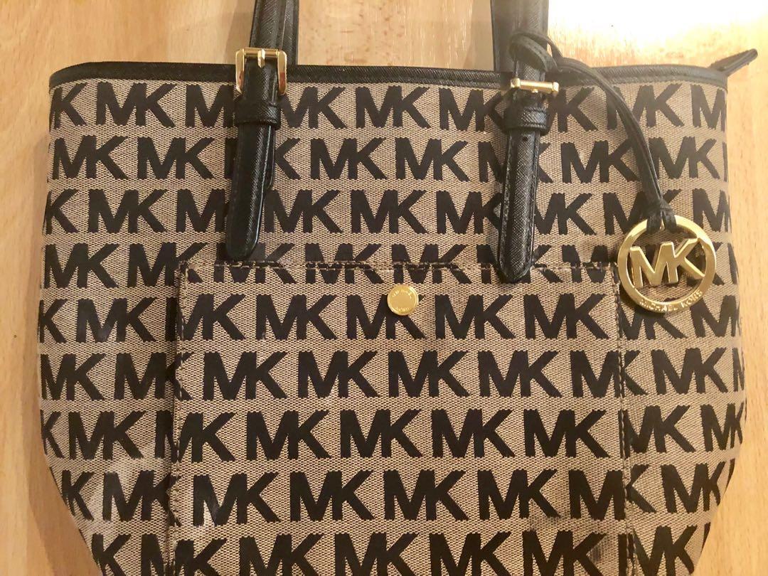 Michael Kors Jet Set Logo Tote Bag Never Used