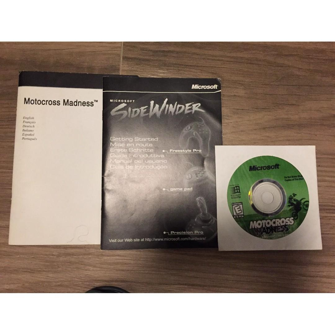 Microsoft Sidewinder Freestyle Pro 連 Motocross Madness 遊戲