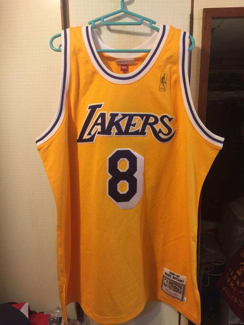 quality design 9ce66 69fcf NBA Mitchell & Ness Kobe Bryant Authentic Jersey size XL 48