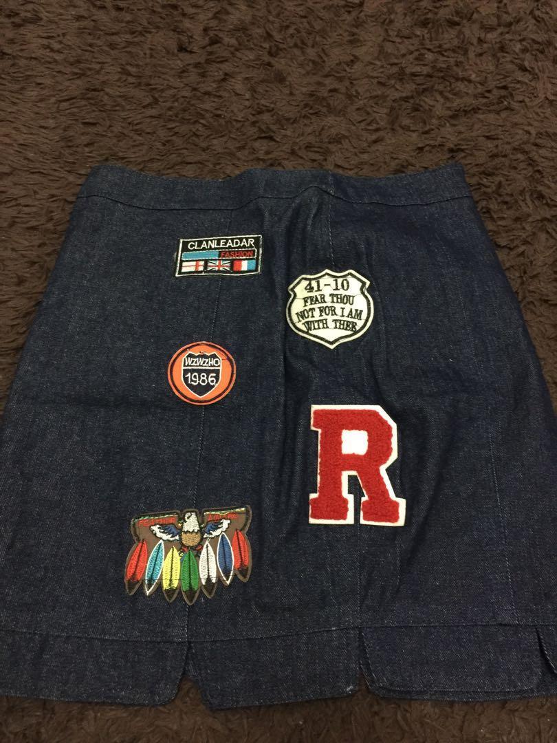 New ya sis , rok jeans