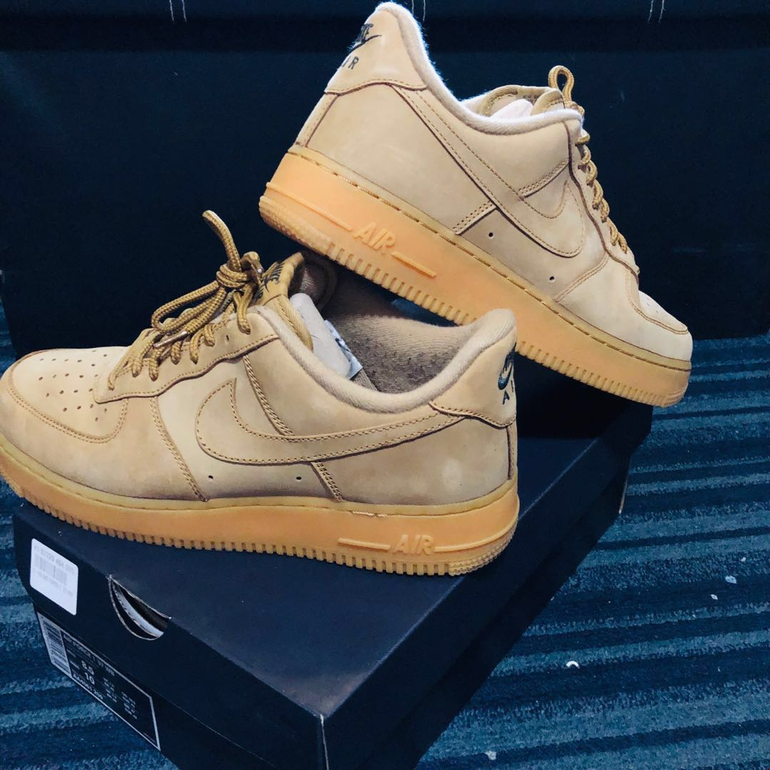 a1d2c19b2a5a Nike Air Force 1 Low Wheat Flax
