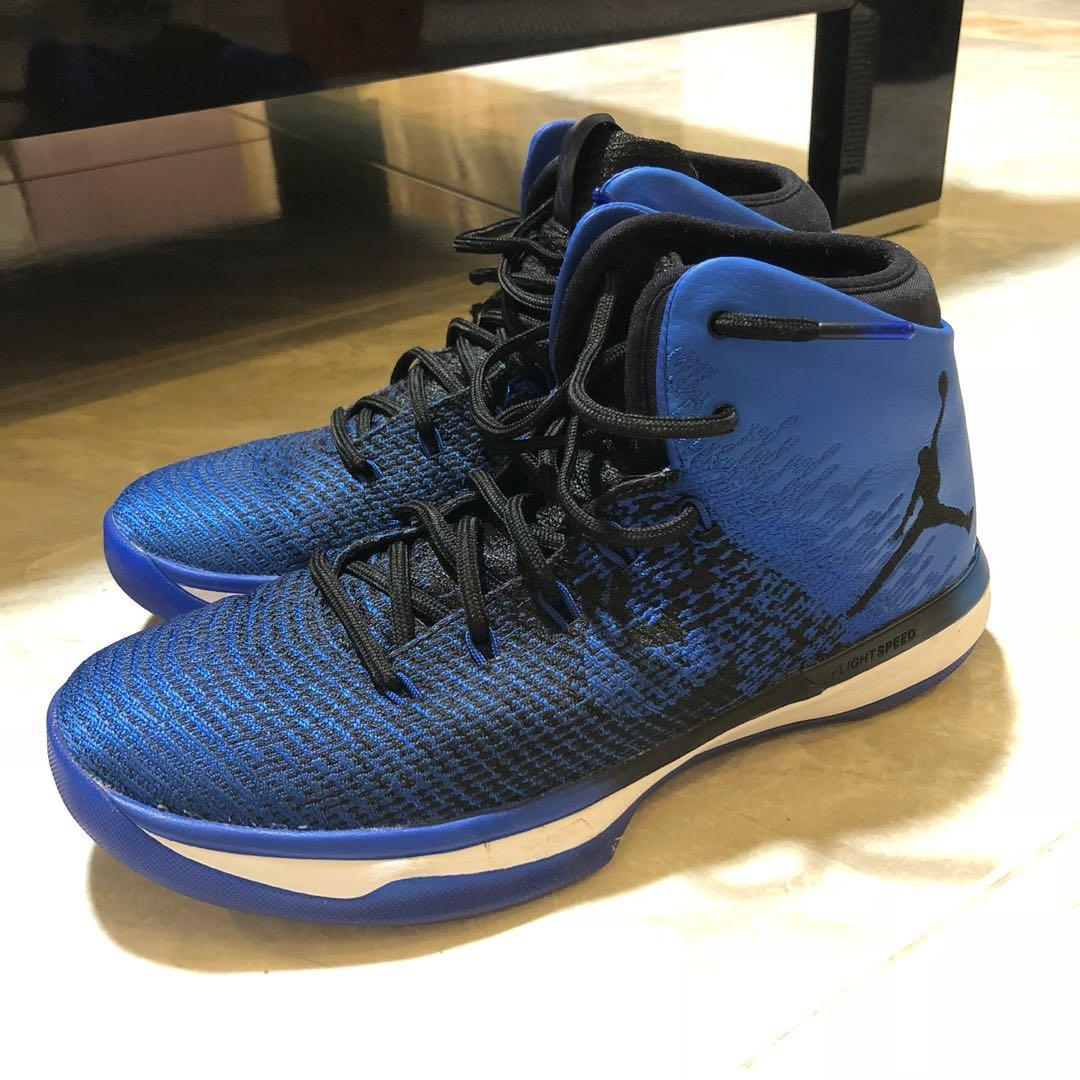 low cost 833b9 6a3a0 Nike Air JORDAN 31 XXXI Royal Blue Basketball Shoes, Men's ...
