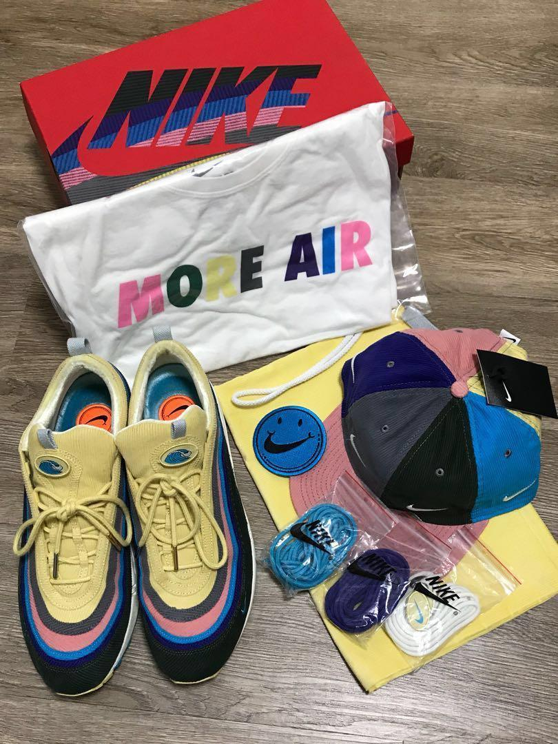Nike Air Max 971 Sean Wotherspoon Full Set F&F US11, Men's