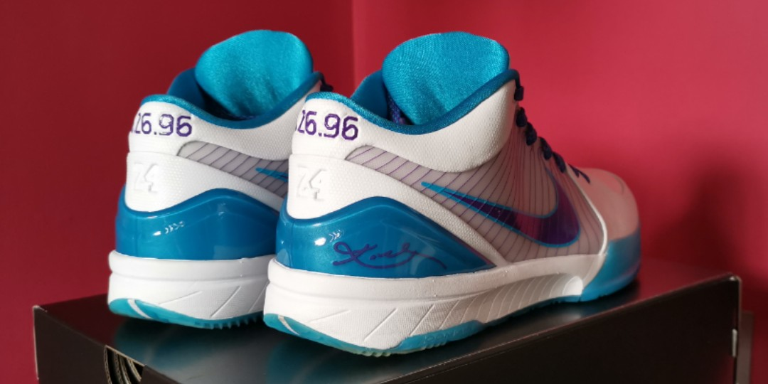 the best attitude 351cb 2c663 Nike Kobe 4 IV Protro Draft Day Hornets, Us9.5, Used