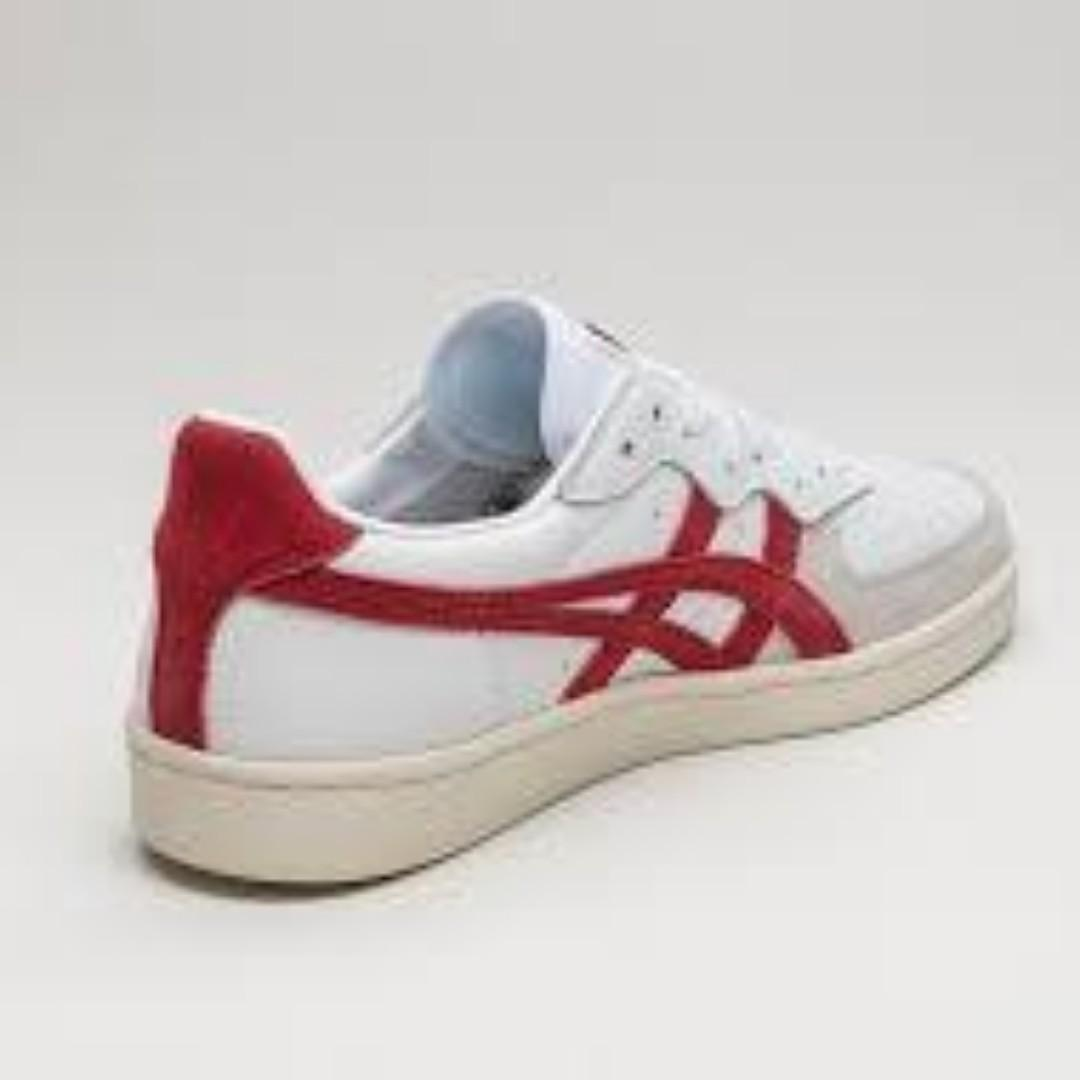 "Onitsuka Tiger GSM ""White/Red"" Men's US Sizes  6 7 8 9 10"