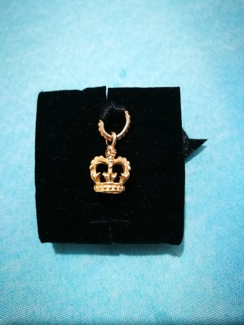 5105f9675 PANDORA rose gold plated crown dangle charm, Women's Fashion ...