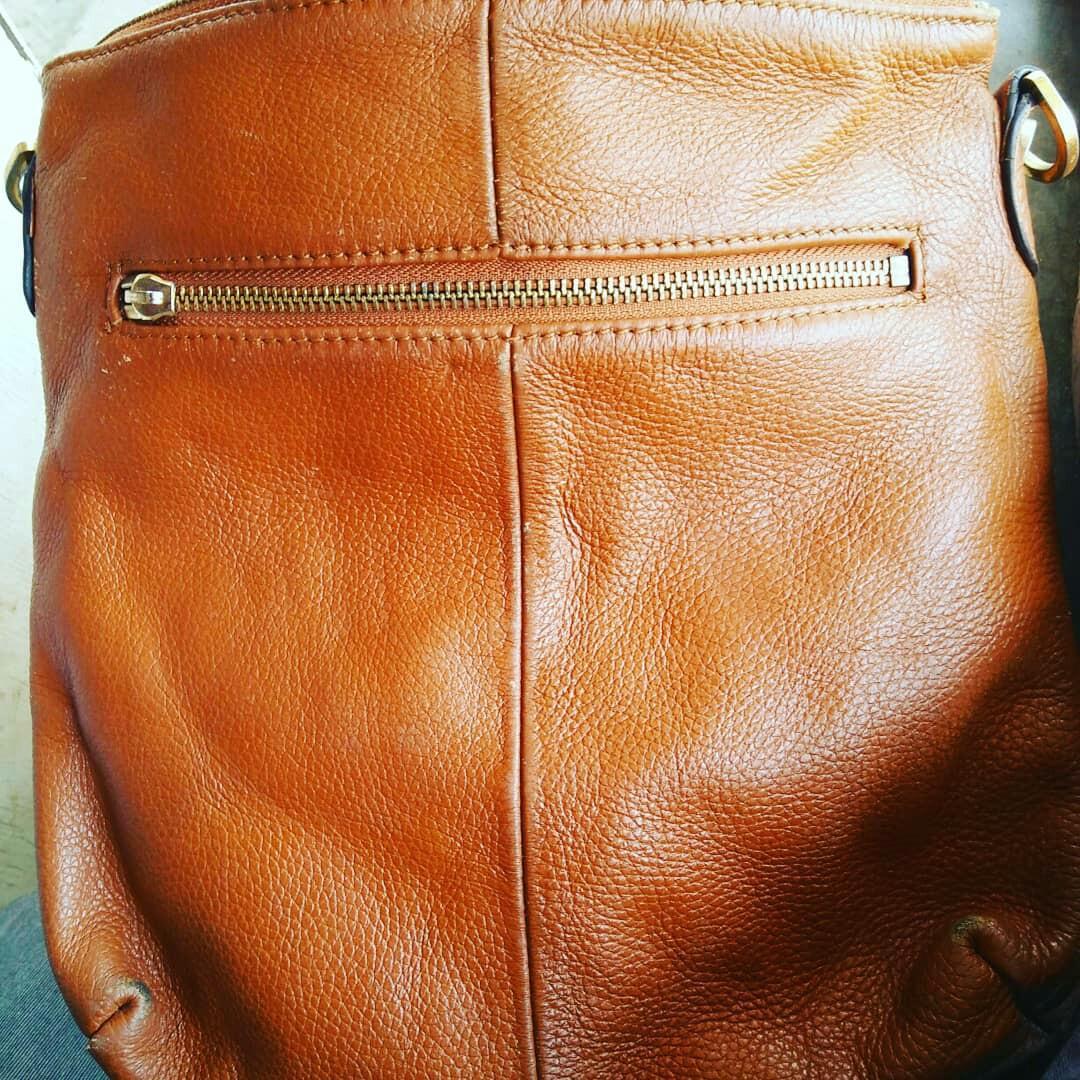 Prada leather