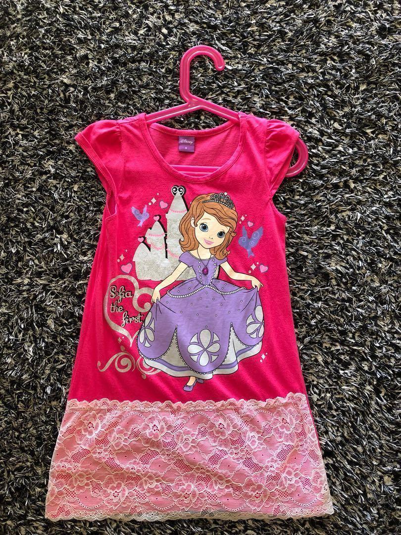 Princess Sofia Cotton Dress