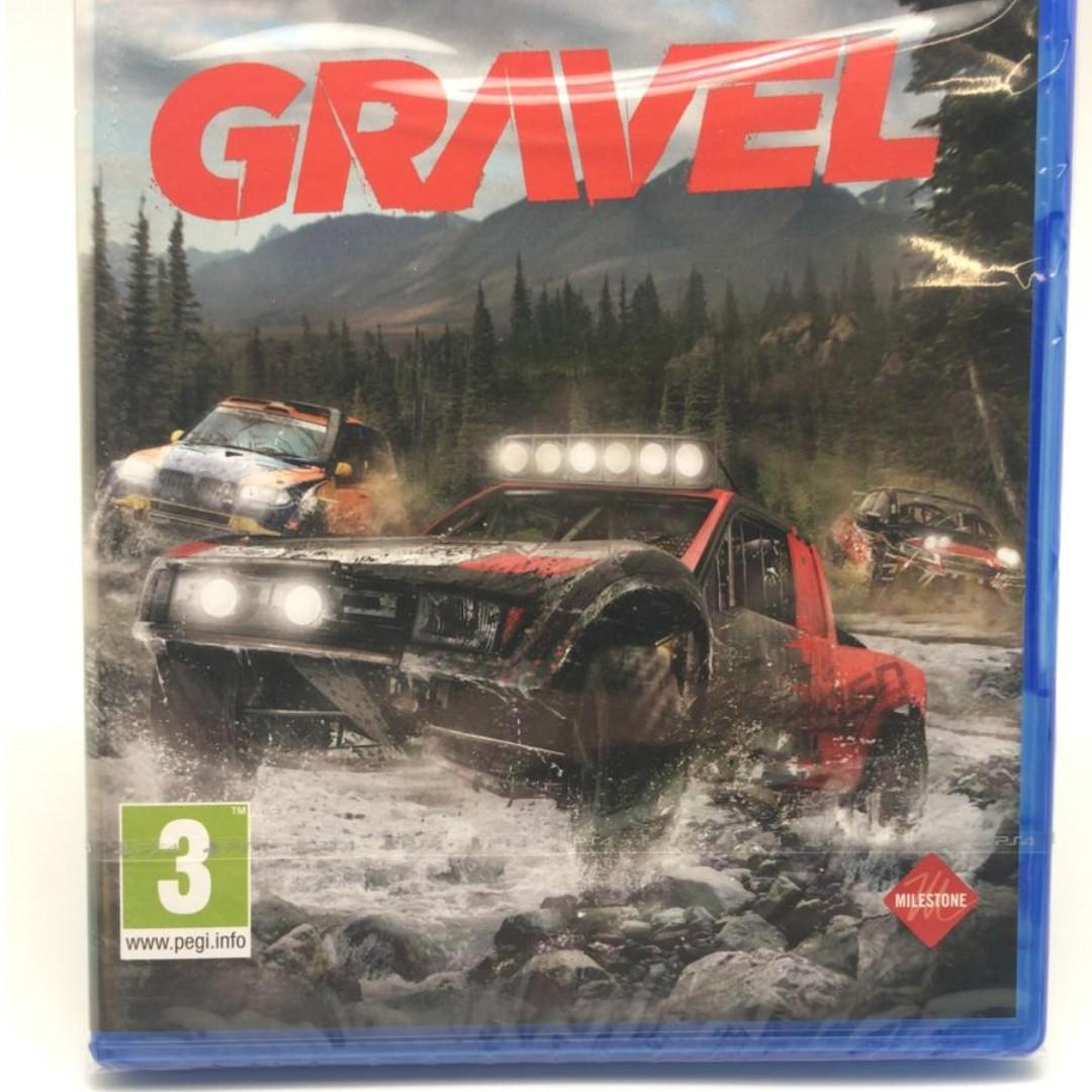 PS4 GRAVEL Racing Game The Definitive Off Road Playground UK