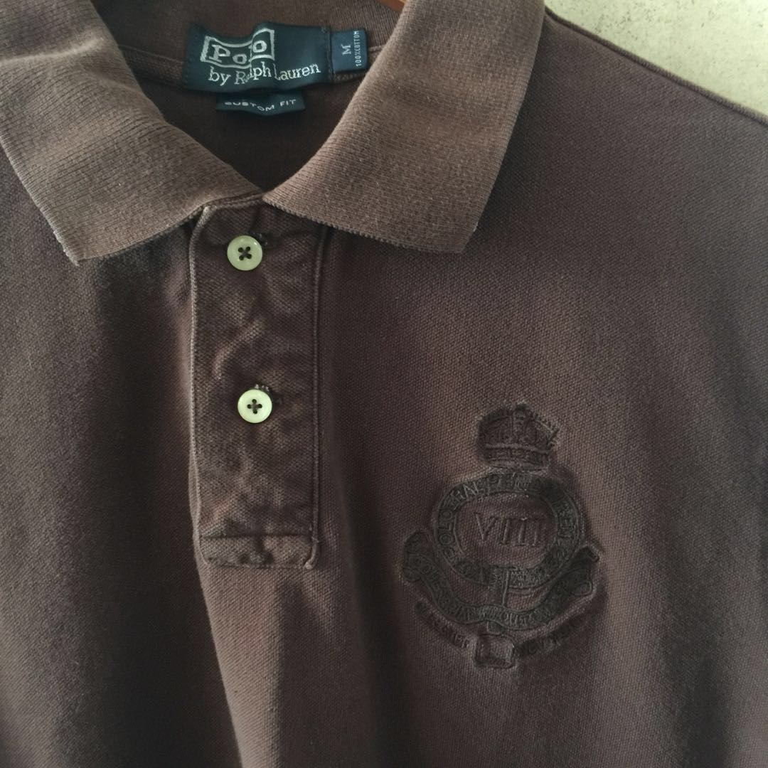 c7dca056 Ralph Lauren Polo Custom Fit T-shirt in M, Men's Fashion, Clothes, Tops on  Carousell