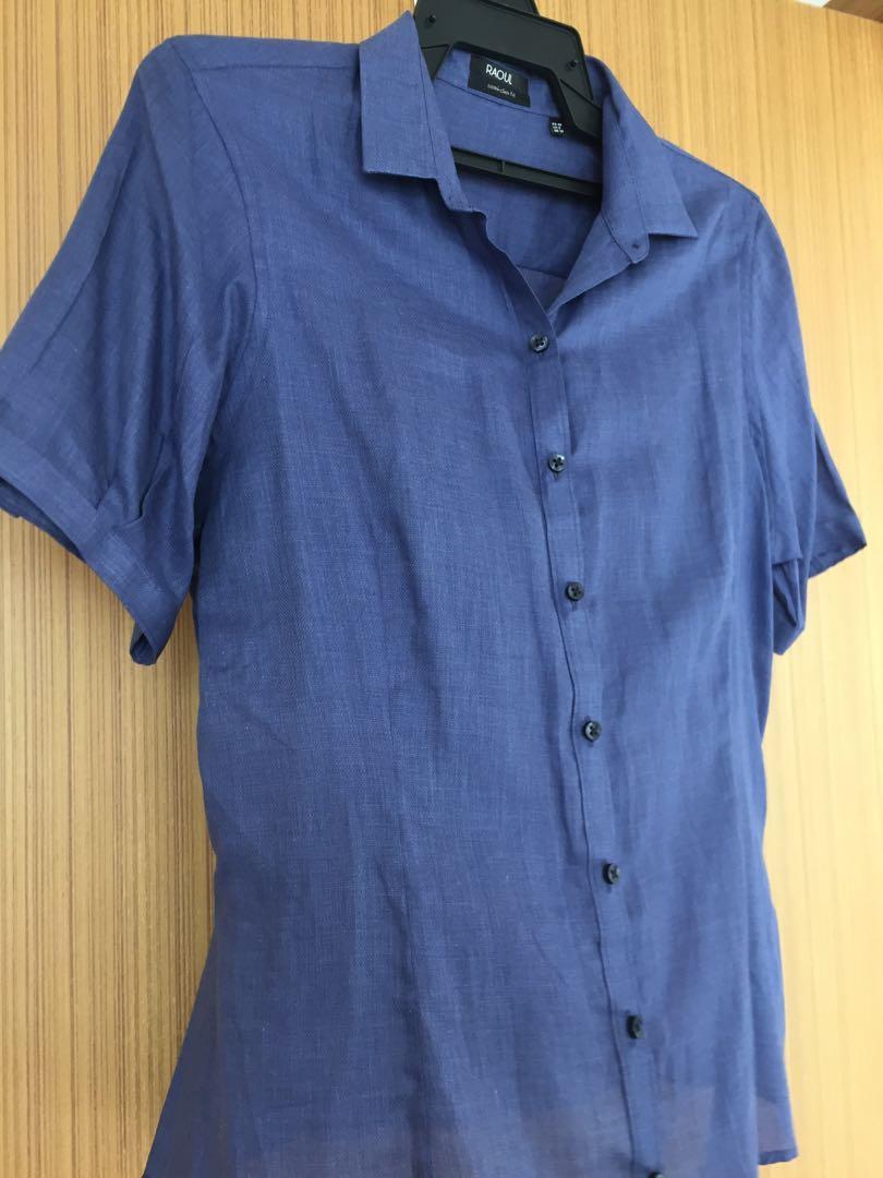 Raoul Blue Shirt