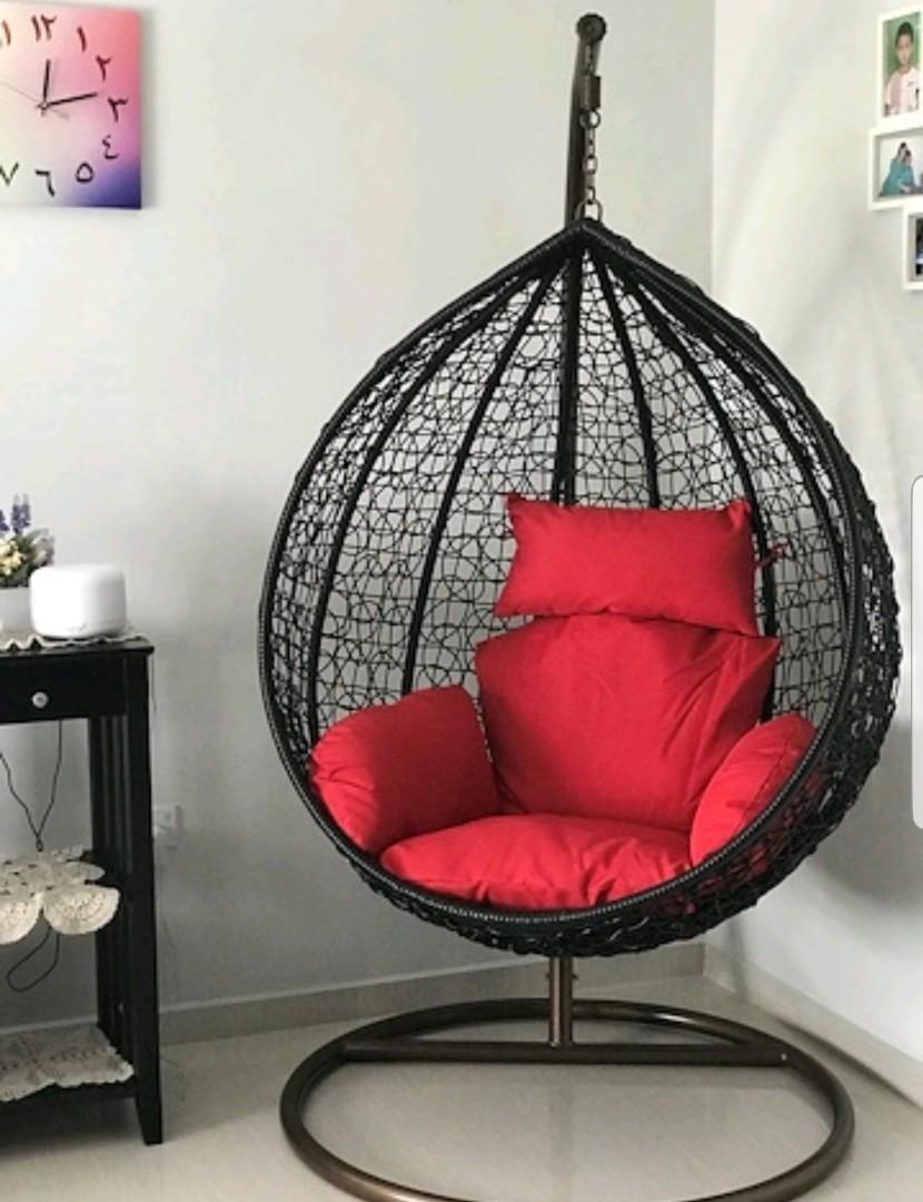 Rattan Swing Hanging Chair Furniture Sofas On Carousell
