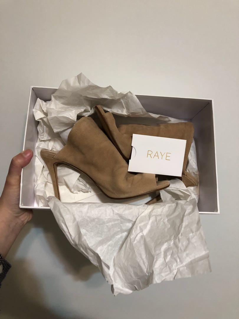 Raye Banks 拖鞋 焦糖色