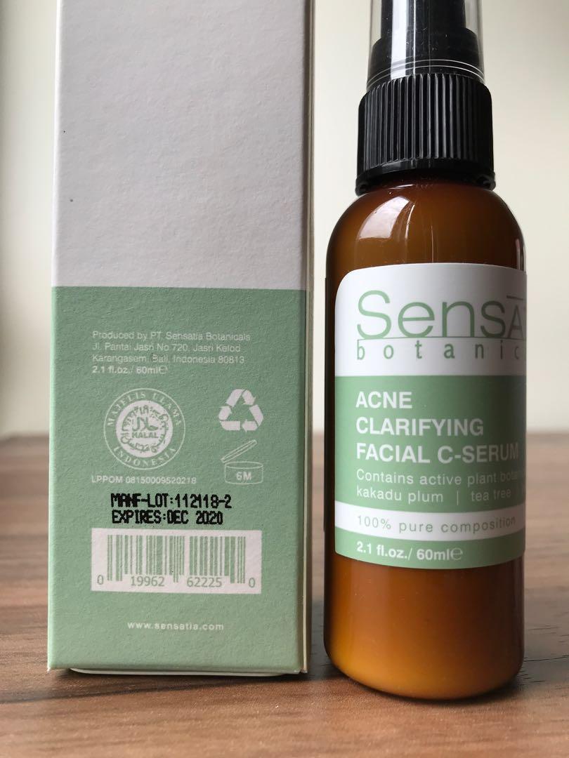 Sensatia Acne Clarifying Facial C-Serum