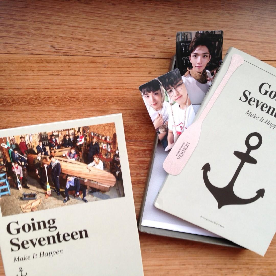 Seventeen Album - Going Seventeen